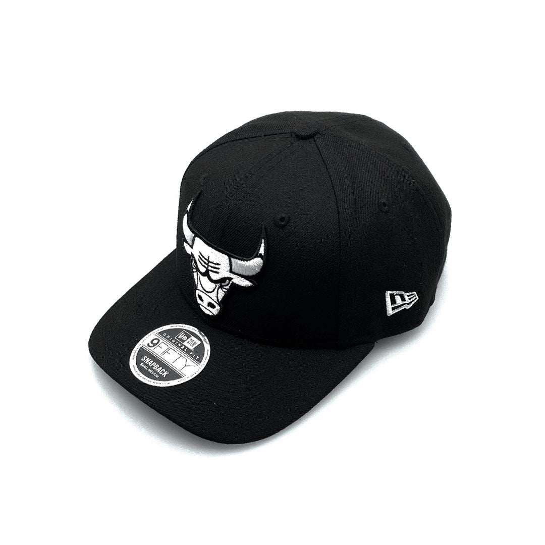 New Era 9FIFTY Original Fit Chicago Bulls - Black/White SP-Headwear-Caps New Era