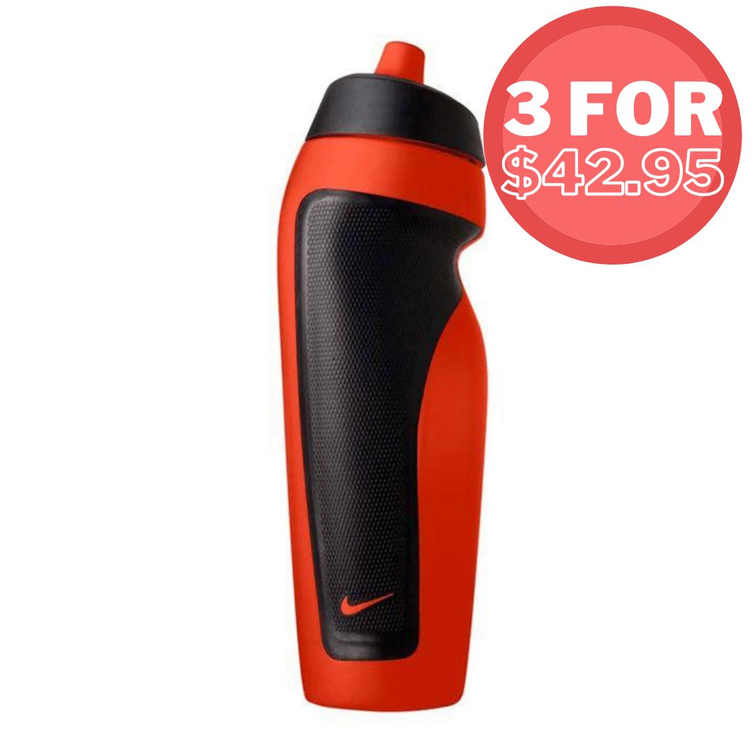Nike Sport Water Bottle 600ml Vivid Purple SP-Accessories-DrinkBottles Nike