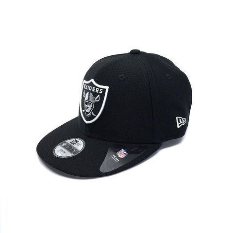 New Era YOUTH 9FORTY Core Hex Era Hook & Loop - Oakland Raiders SP-Headwear-Caps New Era