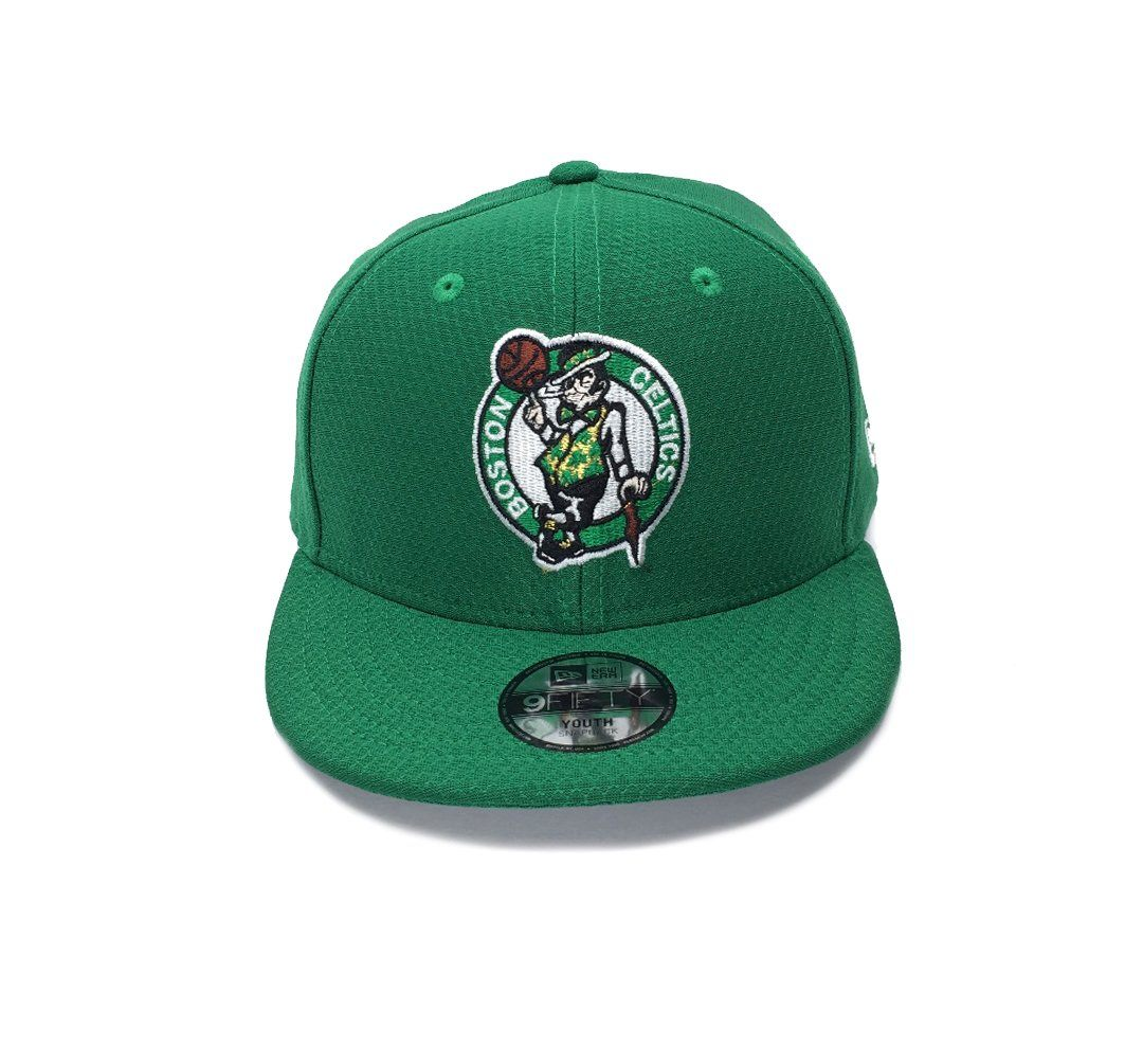 New Era YOUTH 9FORTY Core Hex Era Hook & Loop - Boston Celtics SP-Headwear-Caps New Era