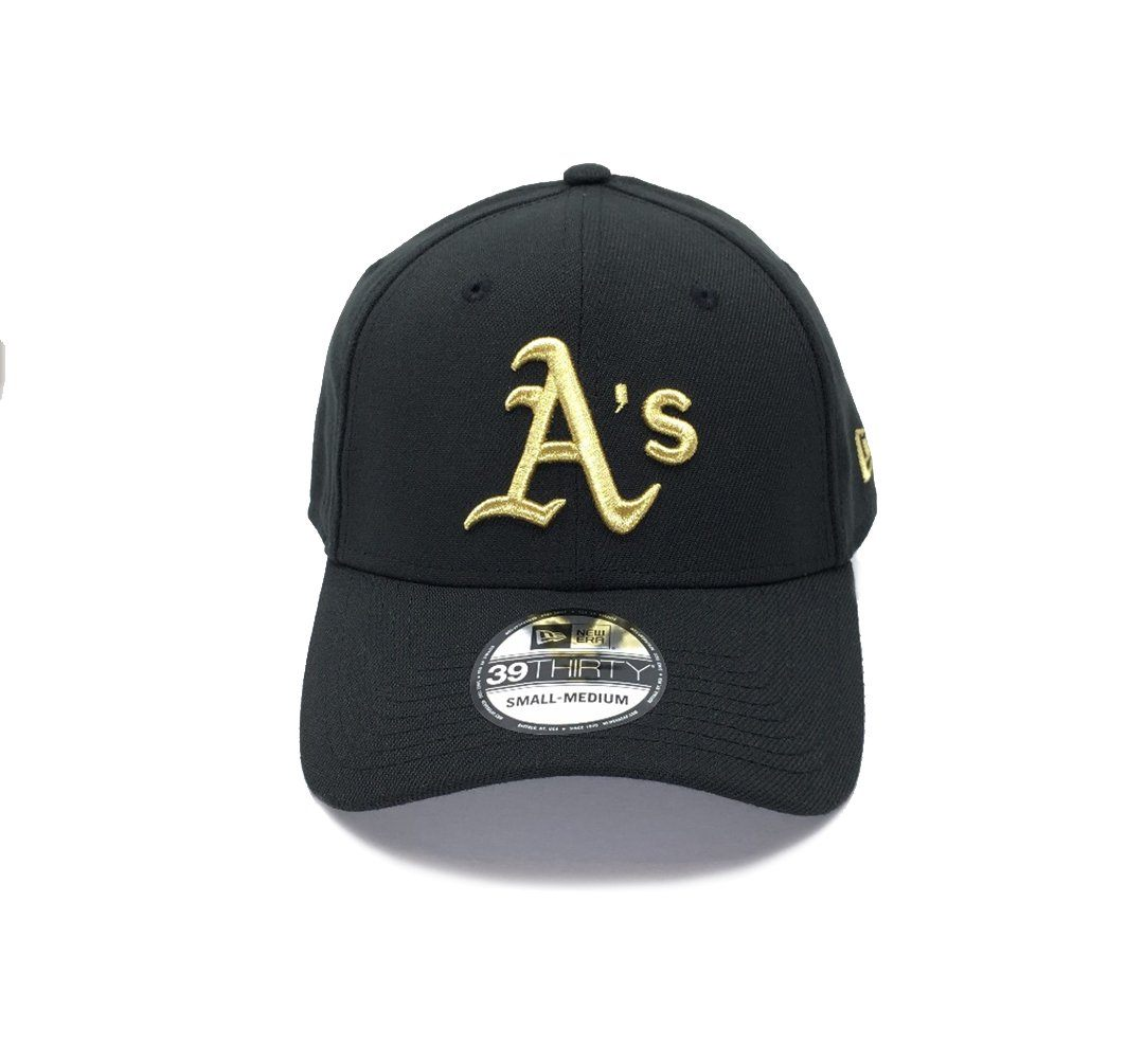 New Era 39THIRTY Gold Special Stretch Fit - Oakland Athletics SP-Headwear-Caps New Era