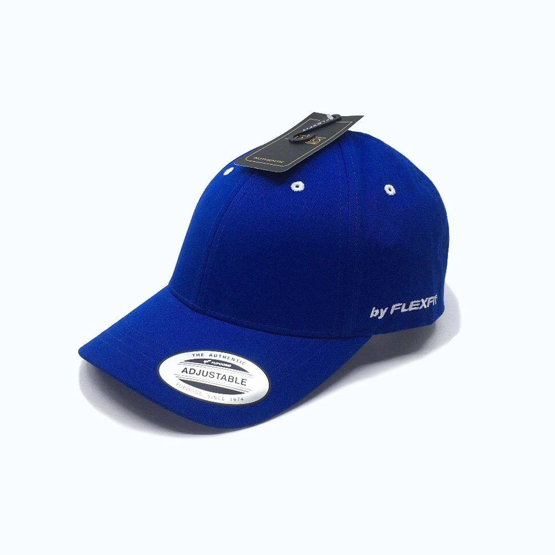 Flexfit Prime StrapBack Royal SP-Headwear-Caps SportsPower Geelong