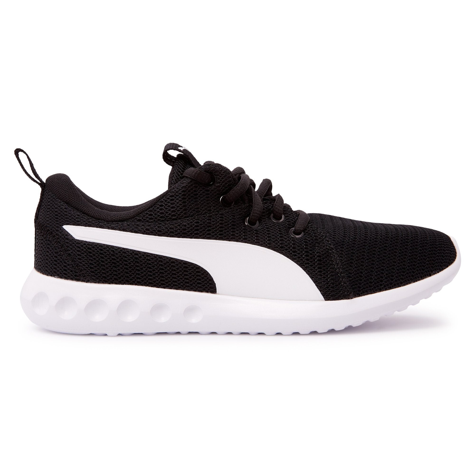 Puma Juniors Carson 2 Jr - Black/White Puma