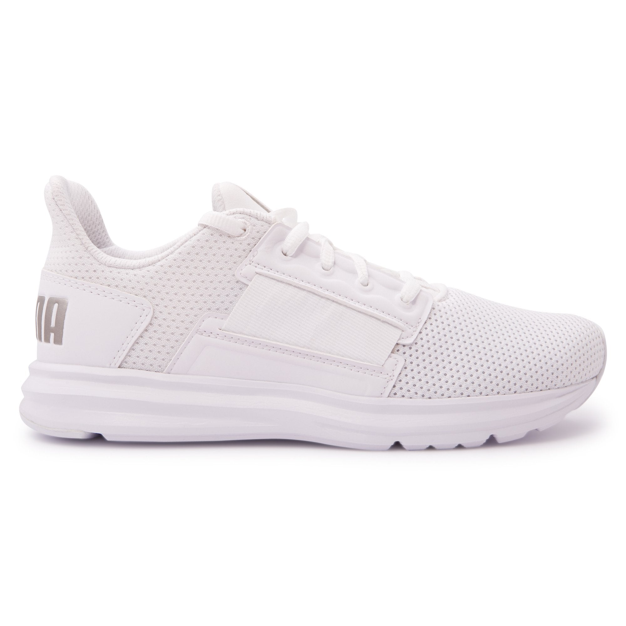 Puma Men's Enzo Street Running Shoes - White Footwear Puma