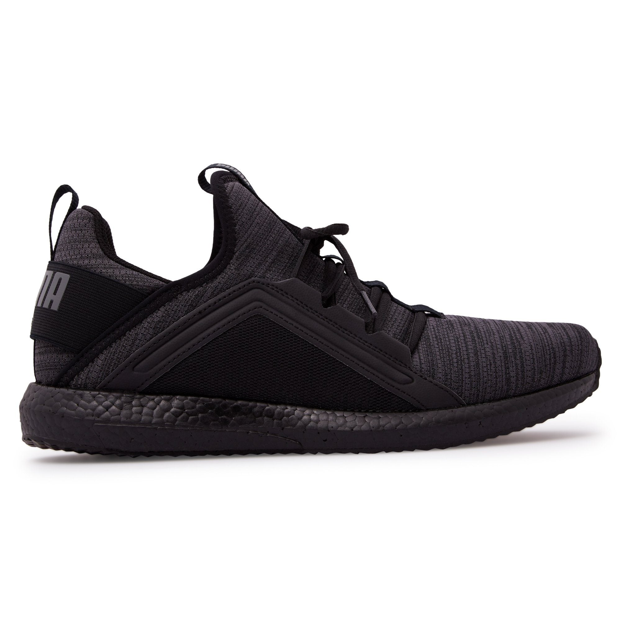 Puma Men's Mega Nrgy Heather Knit - Iron Gate/Black Footwear Puma