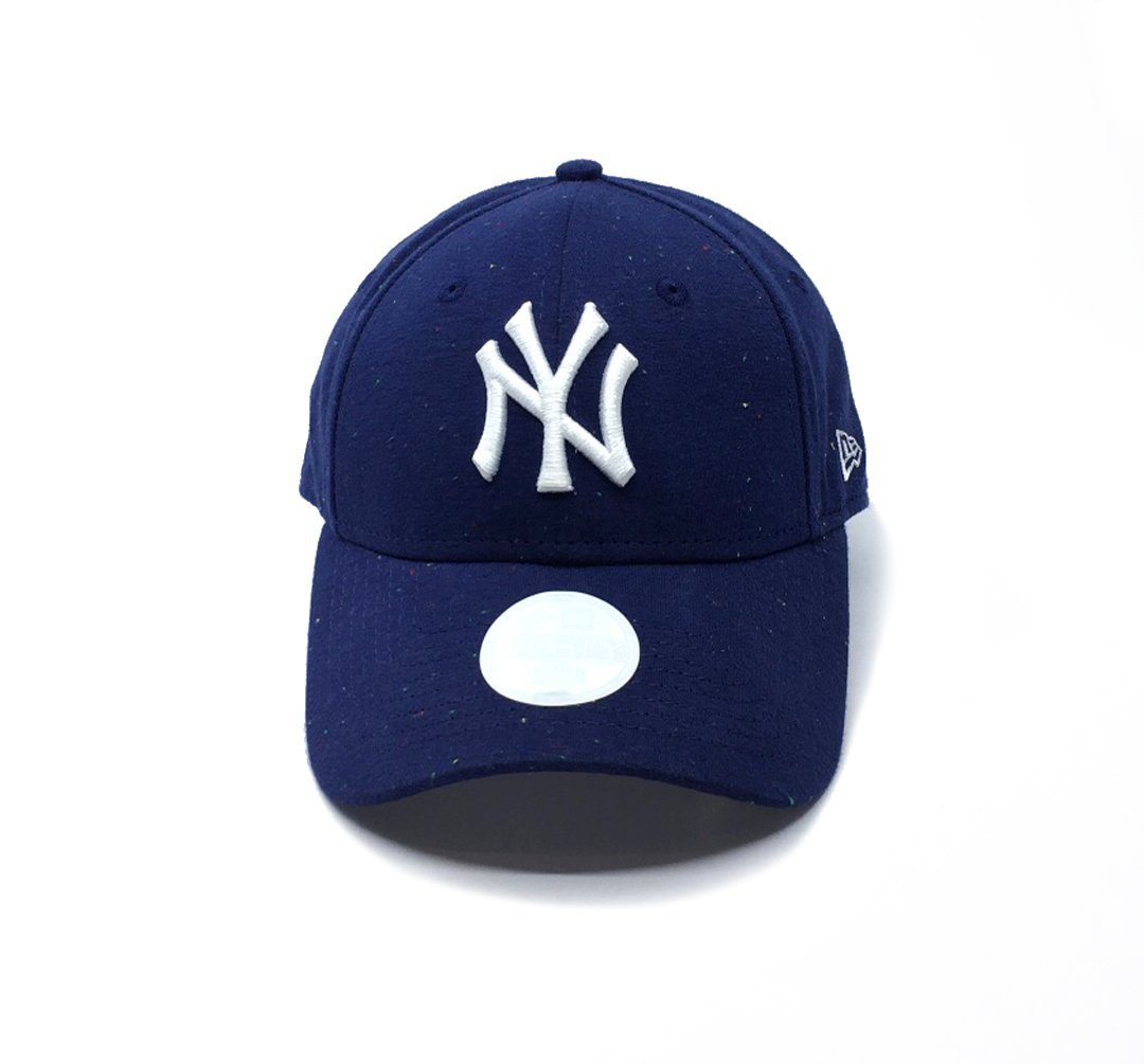 New Era Womens 9FORTY Speckle Jersey Hook & Loop - New York Yankees SP-Headwear-Caps New Era