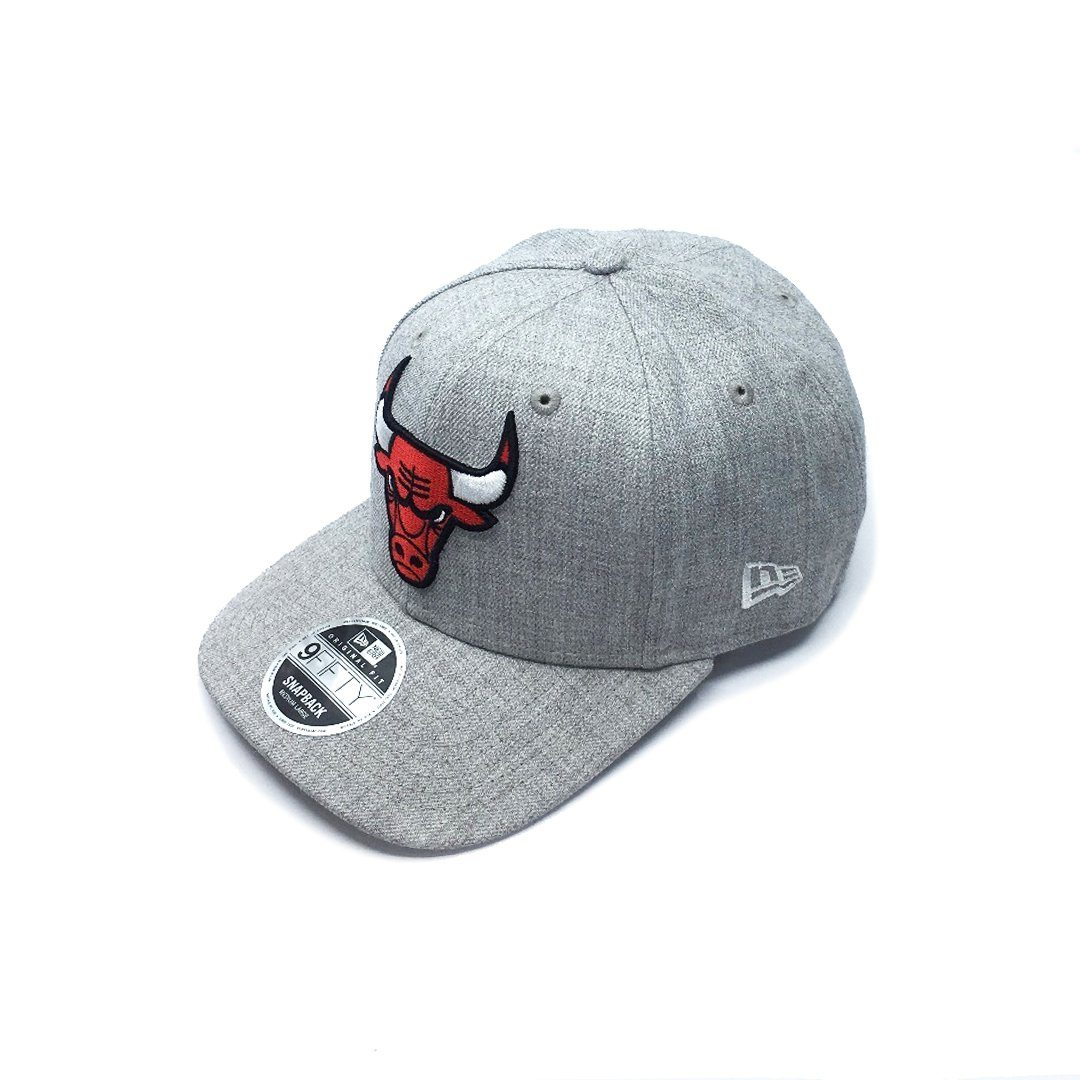 New Era 9FIFTY Heather Drop Pre-Curved - Chicago Bulls SP-Headwear-Caps New Era