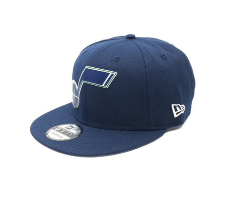 New Era 9Fifty Utah Jazz Snapback - Navy SP-Headwear-Caps New Era