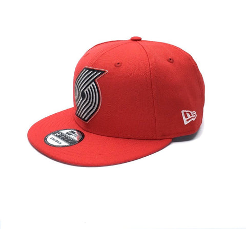New Era 9Fifty Portland Trailblazers Snapback - Red SP-Headwear-Caps New Era