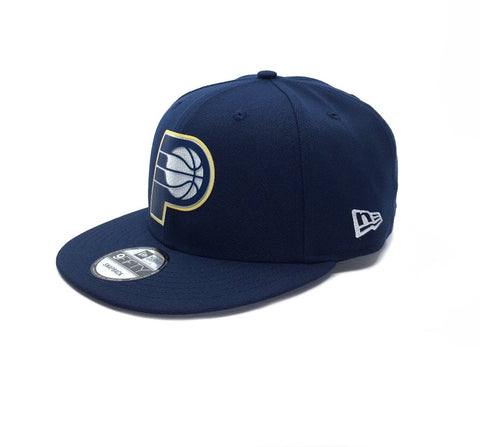 New Era 9Fifty Indiana Pacers Snapback - Navy SP-Headwear-Caps New Era
