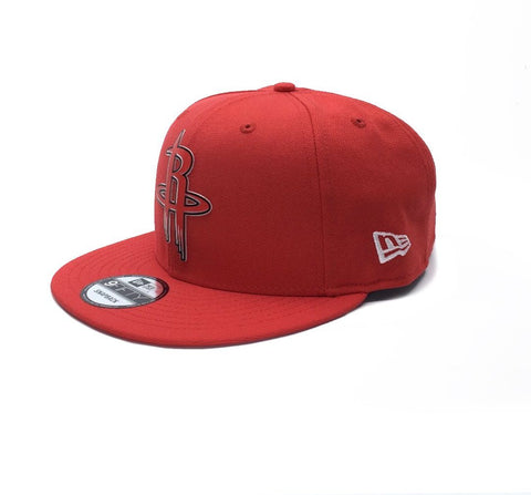 New Era 9Fifty Houston Rockets Snapback - Red SP-Headwear-Caps New Era