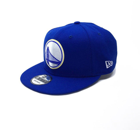 New Era 9Fifty Golden State Warriors Snapback - Blue SP-Headwear-Caps New Era
