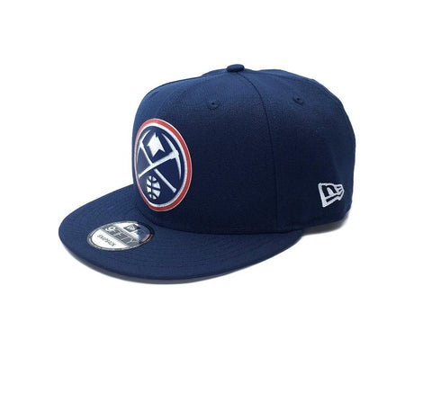 New Era 9Fifty Denver Nuggets Snapback - Navy SP-Headwear-Caps New Era