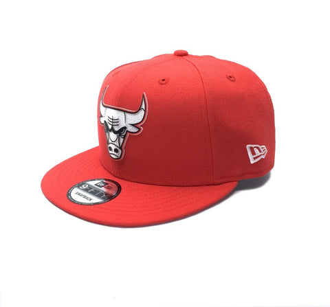 New Era 9Fifty Chicago Bulls Snapback - Red SP-Headwear-Caps New Era