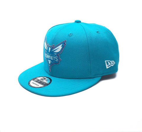 New Era 9Fifty Charlotte Hornets Snapback - Aqua SP-Headwear-Caps New Era