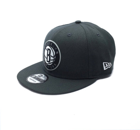 New Era 9Fifty Brooklyn Nets Snapback - Grey SP-Headwear-Caps New Era