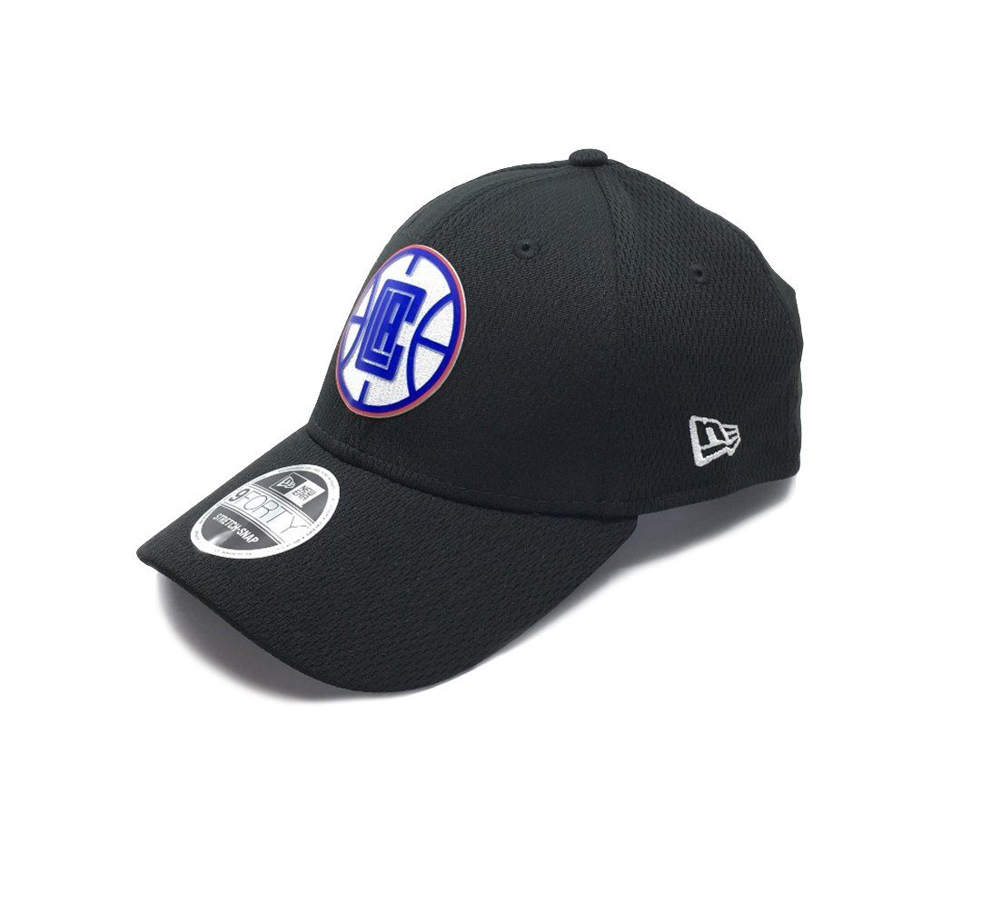New Era 9Forty Los Angeles Clippers Stretch Snap - Black SP-Headwear-Caps New Era