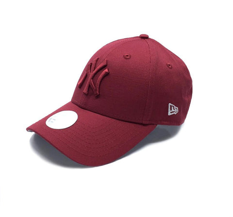 New Era 9FORTY New York Yankees Women Adjustable - Maroon SP-Headwear-Caps New Era
