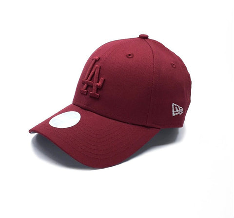 New Era 9FORTY LA Dodgers Women Adjustable - Maroon SP-Headwear-Caps New Era