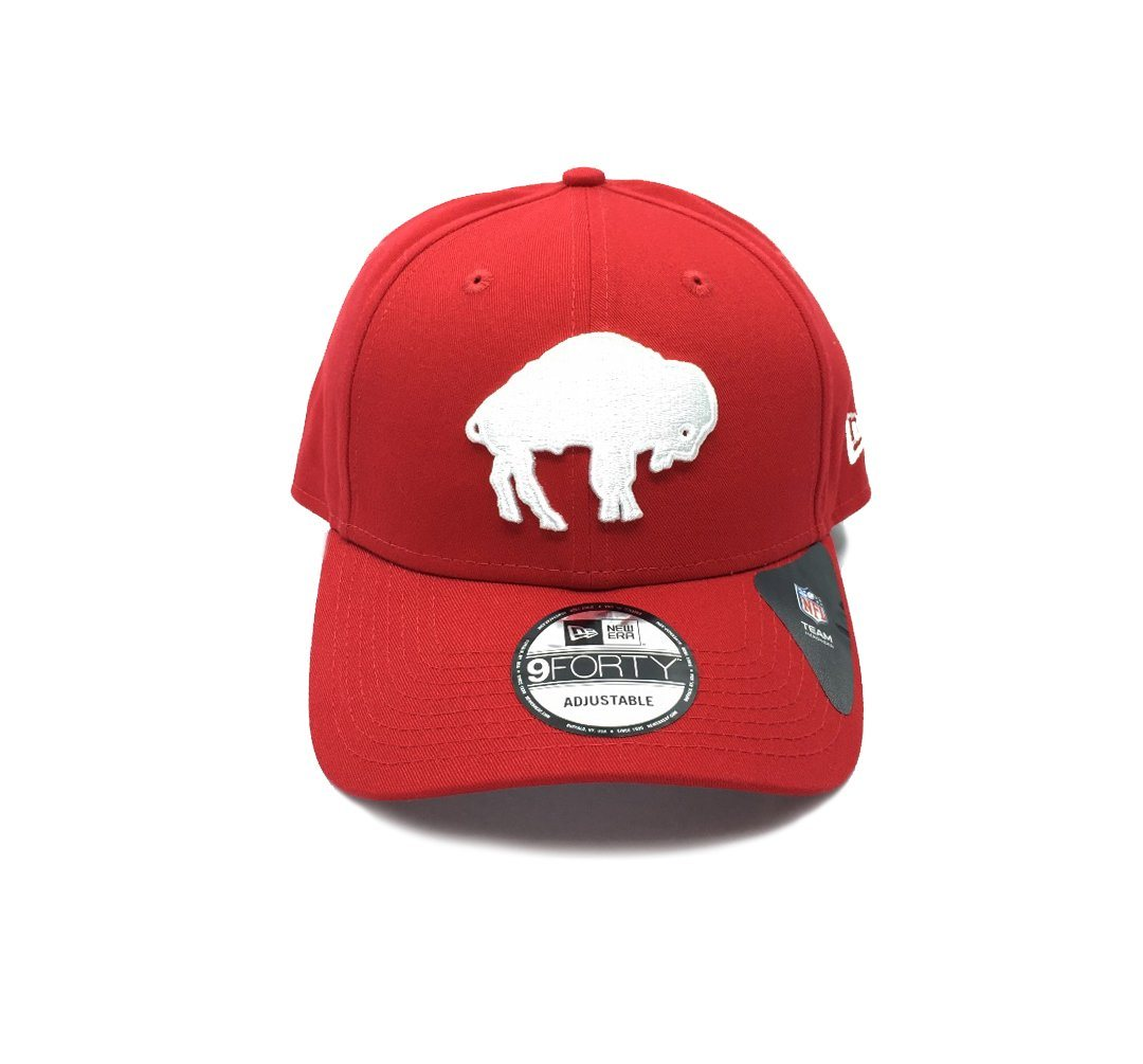 New Era 9FORTY Buffalo Bills Q120 Snapback - Red SP-Headwear-Caps SportsPower Geelong