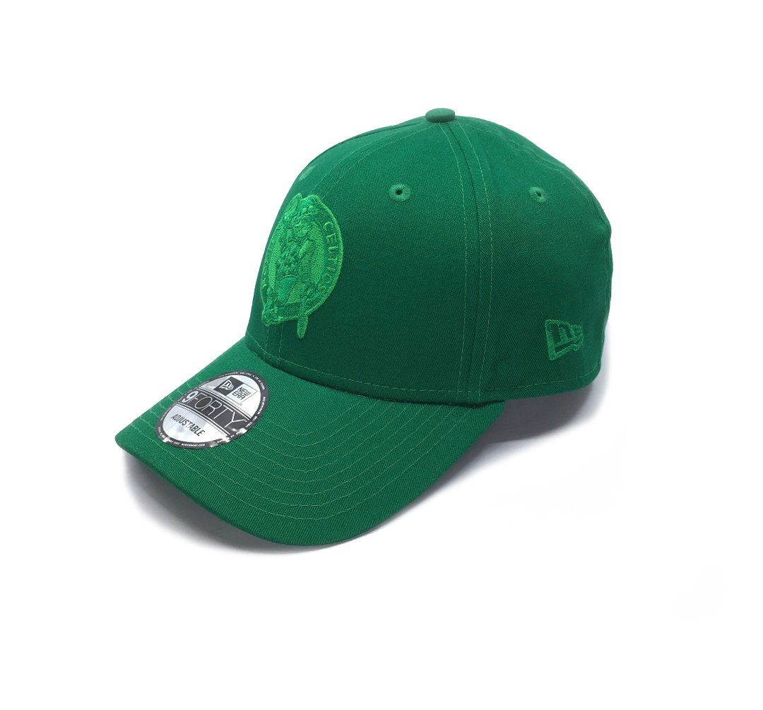 New Era 9FORTY Boston Celtics Q120 Adjustable - Green SP-Headwear-Caps SportsPower Geelong
