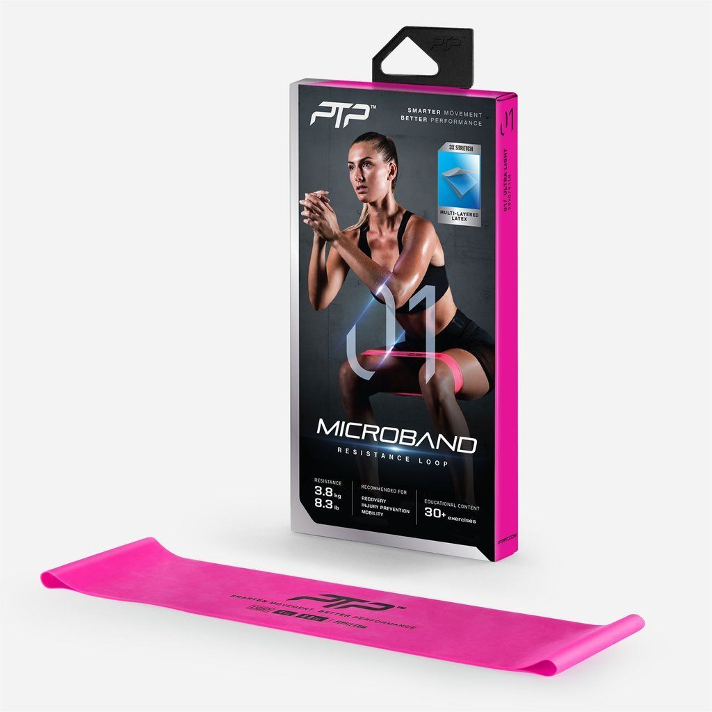 PTP MicroBand Ultra Light - Pink SP-EquipmentRecovery PTP