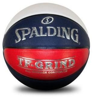 Spalding TF-Grind Indoor/Outdoor Basketball - Red/White/Blue - Size 6 SP-Balls SportsPower Geelong