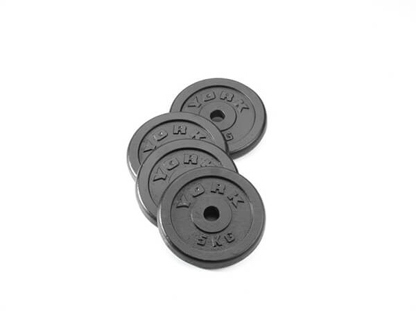 York 5kg Cast Iron Disc (Sold Individually) SP-Equipment-Exercise York