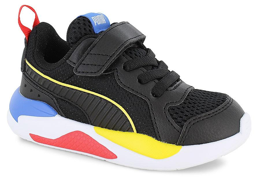 Puma Kids X-Ray AC PS - Puma Black/Meadowlark SP-Footwear-Kids Puma