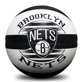 Spalding NBA Team Series Outdoor Basketball - Brooklyn Nets (Size 6) SP-Balls Spalding
