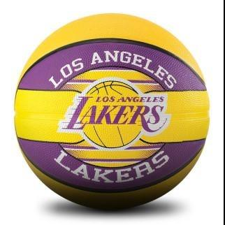 Spalding NBA Team Series Outdoor Basketball - LA Lakers (Size 6)