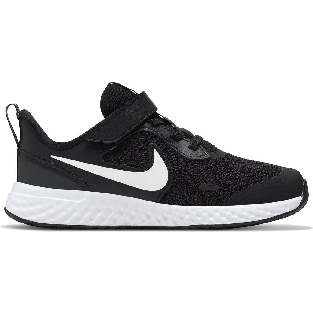 Nike Kids Revolution 5 Little Kids Shoe - Black/White-Anthracite SP-Footwear-Kids Nike