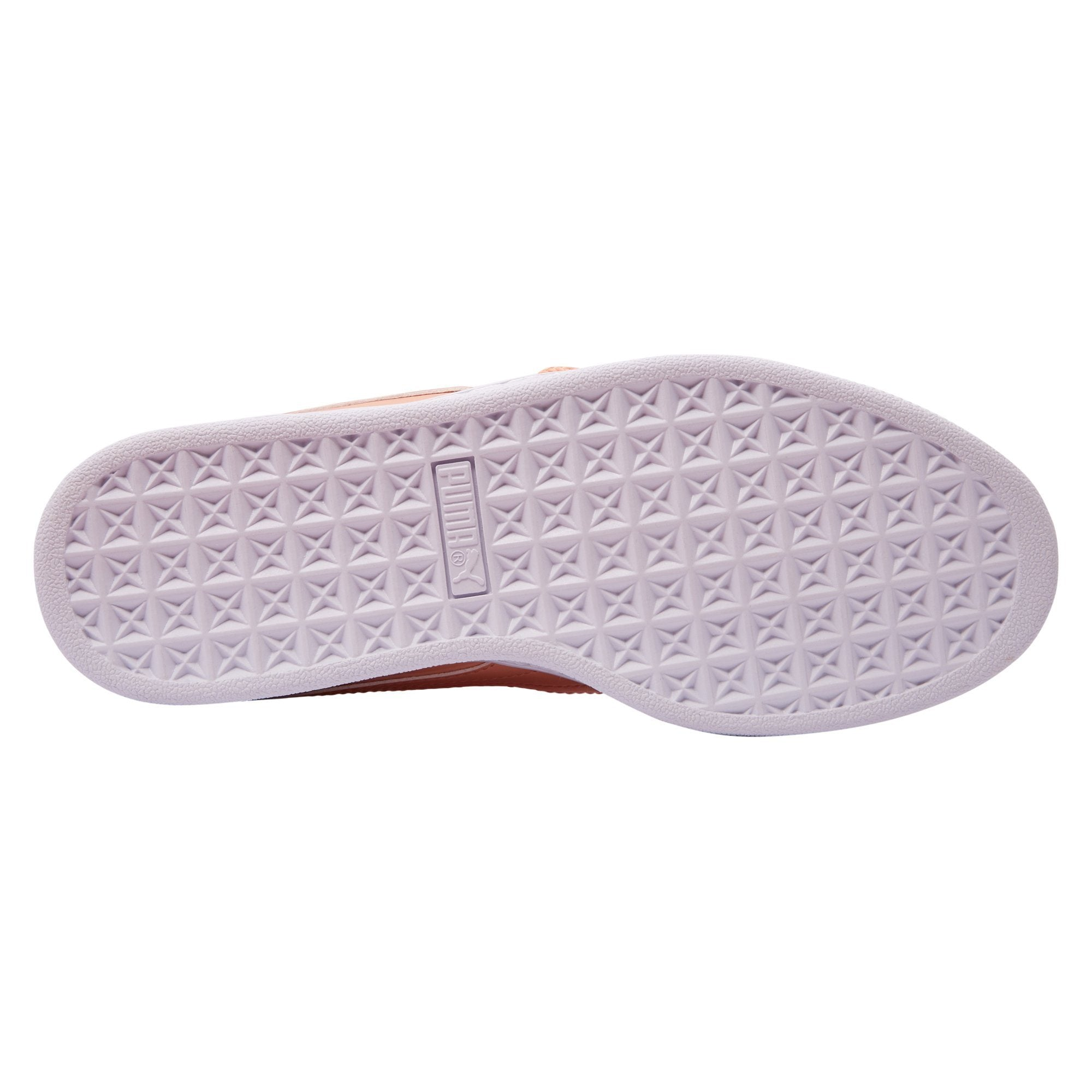 huge selection of 7f03e 21774 Puma Women's Basket Heart Patent - Coral
