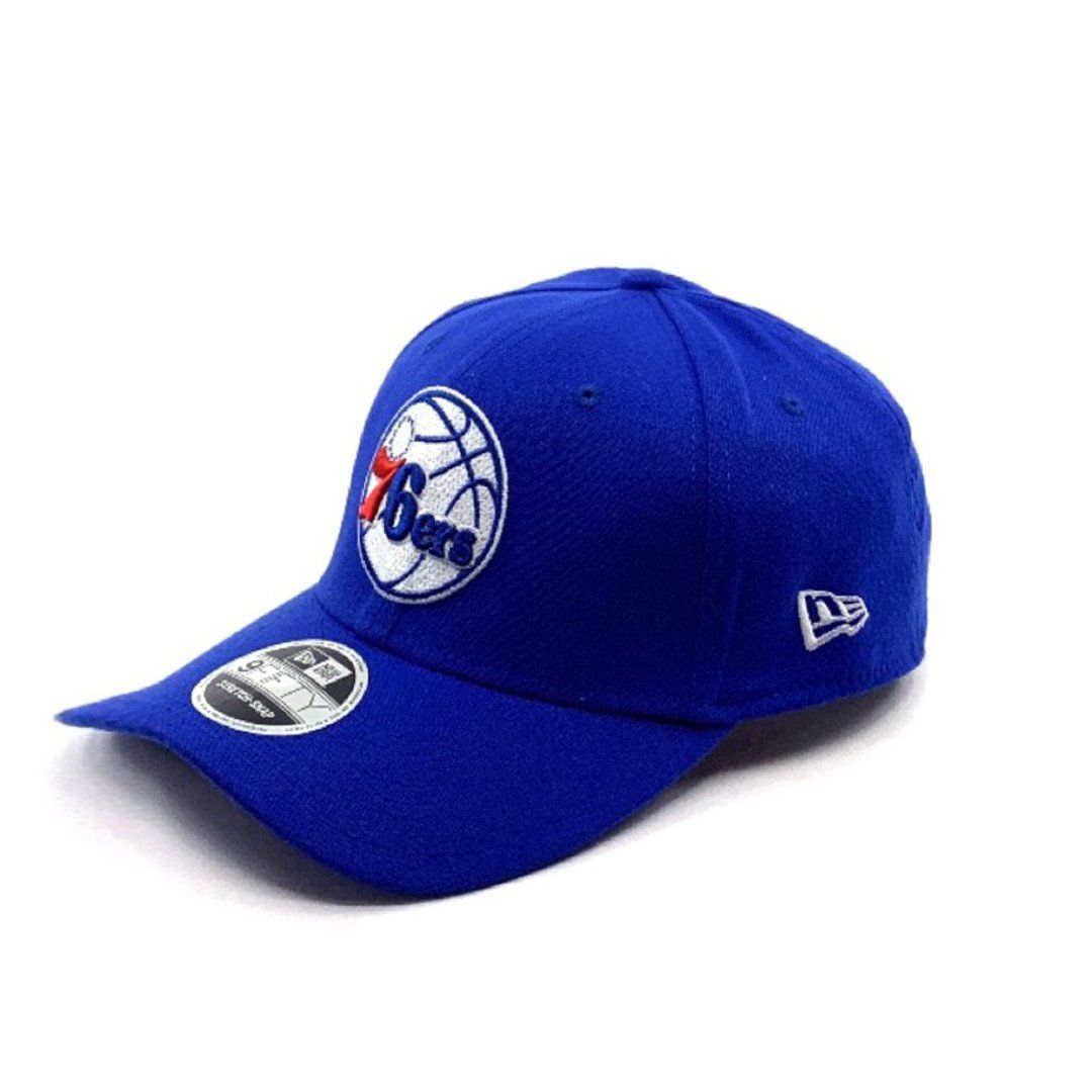 Philadelphia 76ers Blue 9FIFTY Stretch Snapback Hats New Era