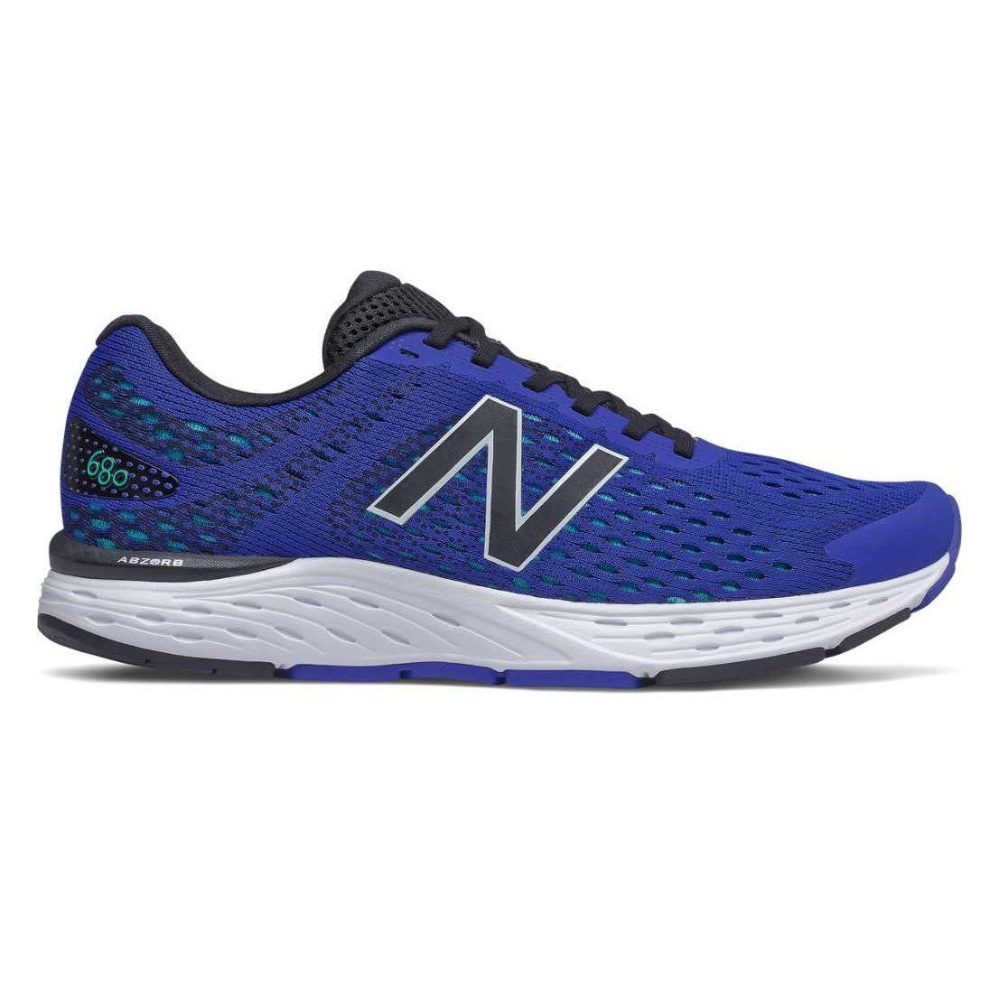New Balance Mens 680v6 - Cobalt Blue with Tidepool SP-Footwear-Mens New Balance