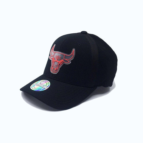 Mitchell & Ness Hideout High Crown 110 6 Panel -Chicago Bulls (Black) SP-Headwear-Caps Mitchell & Ness