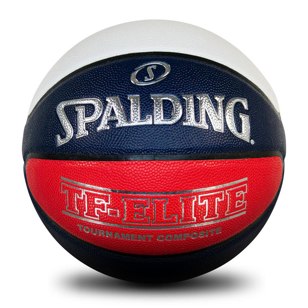 Spalding TF-Elite Official VJBL Ball (Red/White/Blue) - Size 7