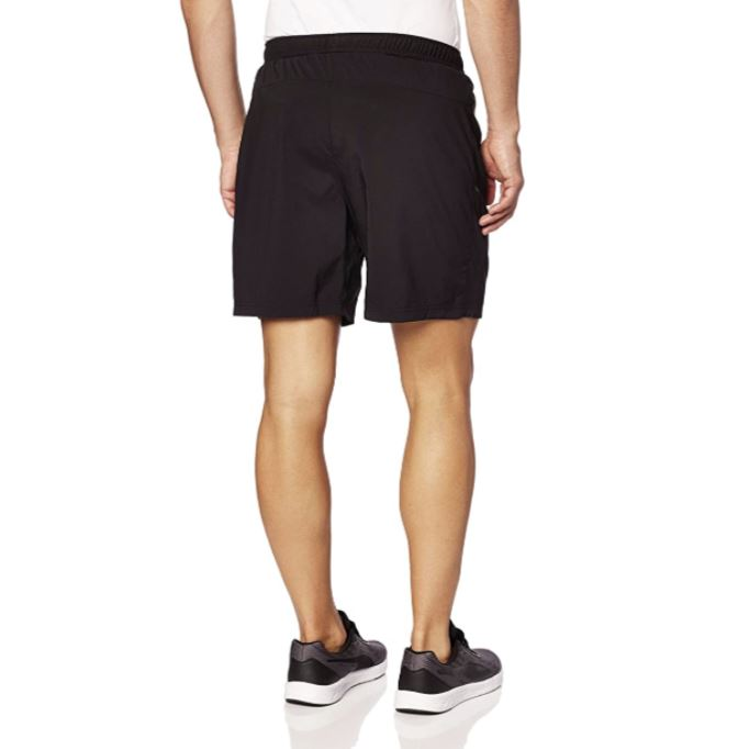 "Puma Mens Core-Run 7"" Shorts - Black SP-ApparelShorts-Mens Puma"