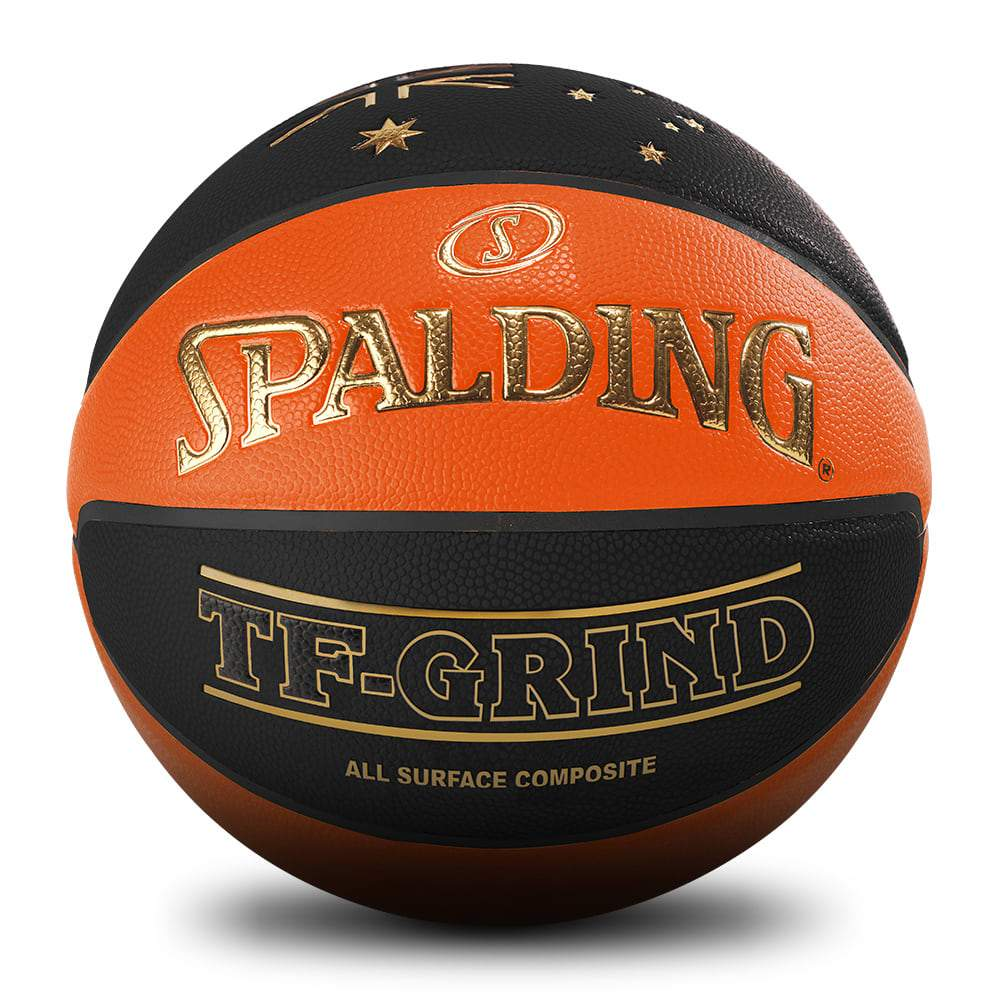 Spalding TF-Grind Indoor/Outoor Basketball Australia - Orange/Black - Size 5