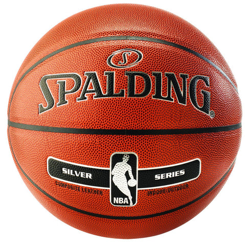 Spalding NBA Silver SZ 7 In/Out B/Ball Balls Russell Corp