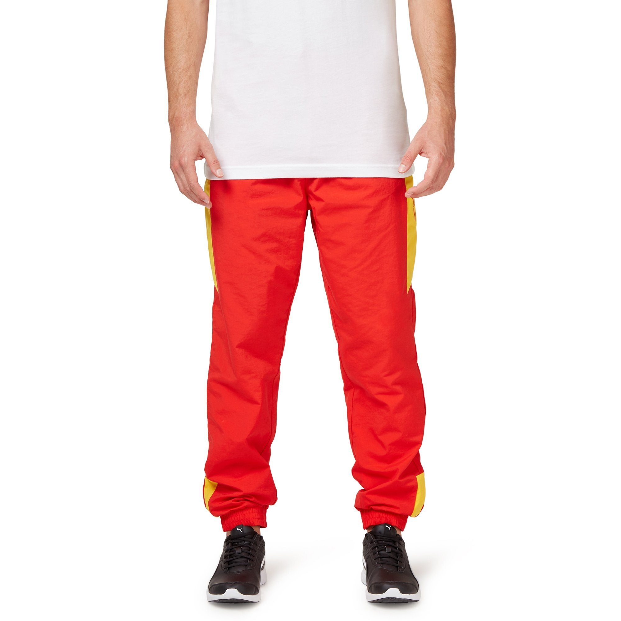 Puma Men's Homage to Archive Trackpants - Red Apparel Puma