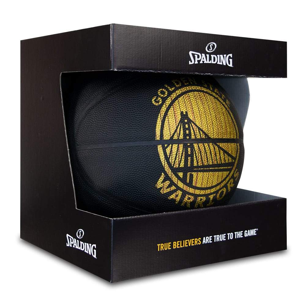 Spalding NBA Hardwood Series All Surface Ball - Golden State Warriors - Size 7