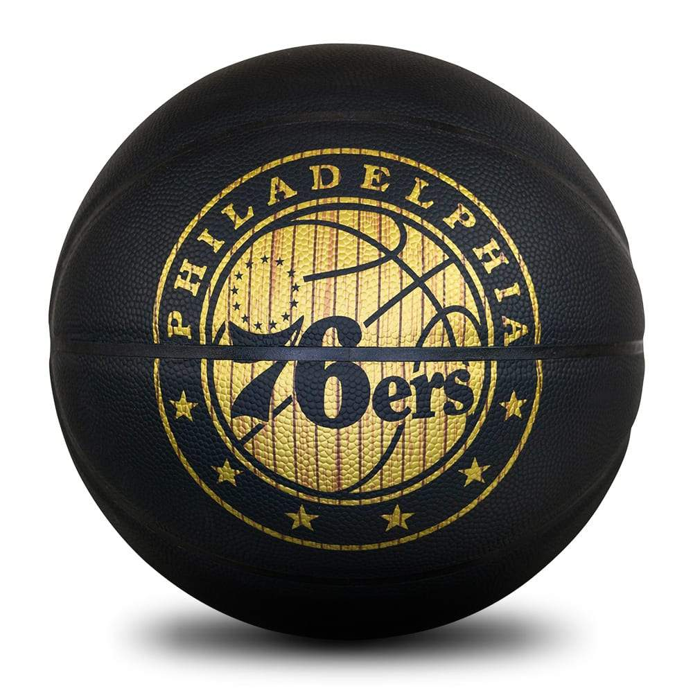 Spalding NBA Hardwood Series All Surface Ball - Philadelphia 76ers - Size 7 SP-Balls Spalding