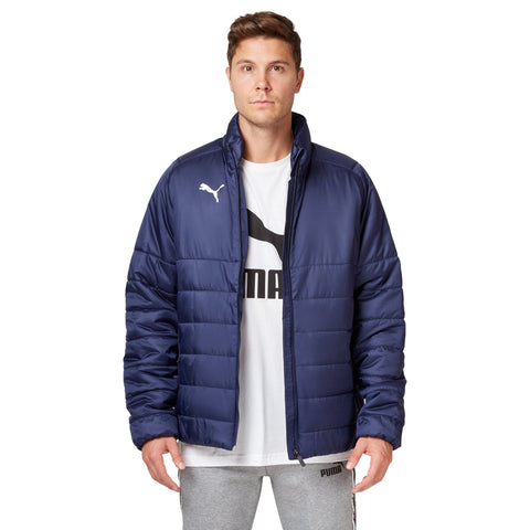 Puma Men's Liga Casuals Padded Jacket - Peacoat Apparel Puma