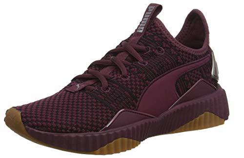Puma Womens Defy Luxe - Fig-Metallic SP-Footwear-Womens Puma