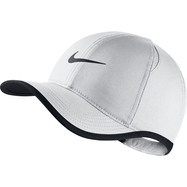 Nike Kids Aerobill Featherlight Hat - White/Black/Black Q3NIKE Nike