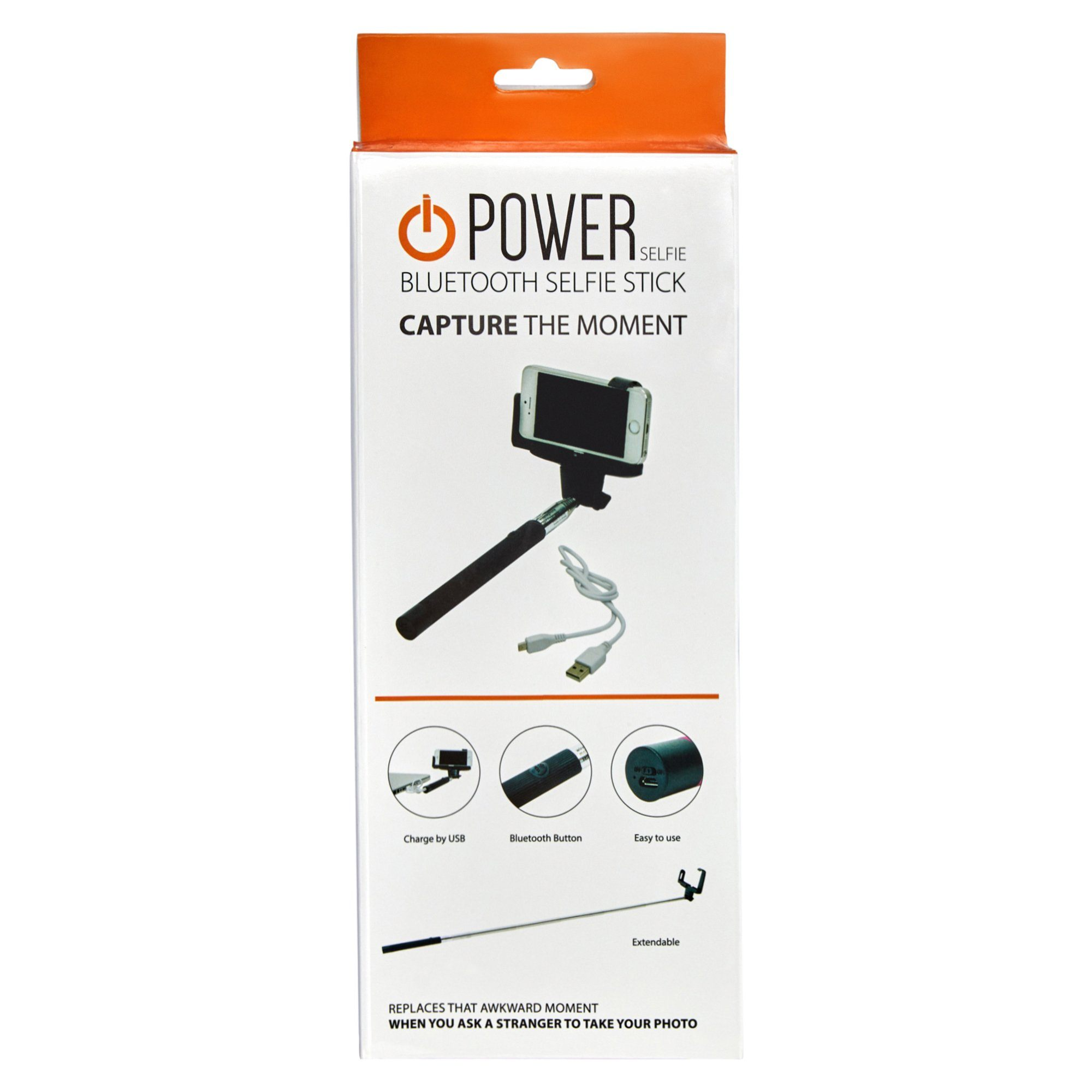 Selfie Stick - Black Tech Power