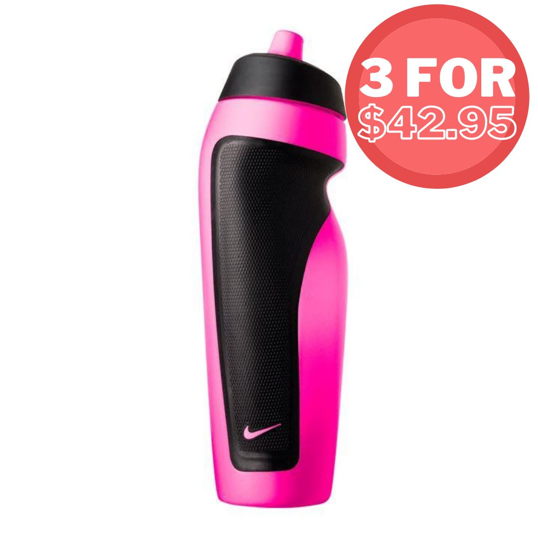 Nike Sport Water Bottle - Pink Pow SP - Accessories SportsPower Geelong