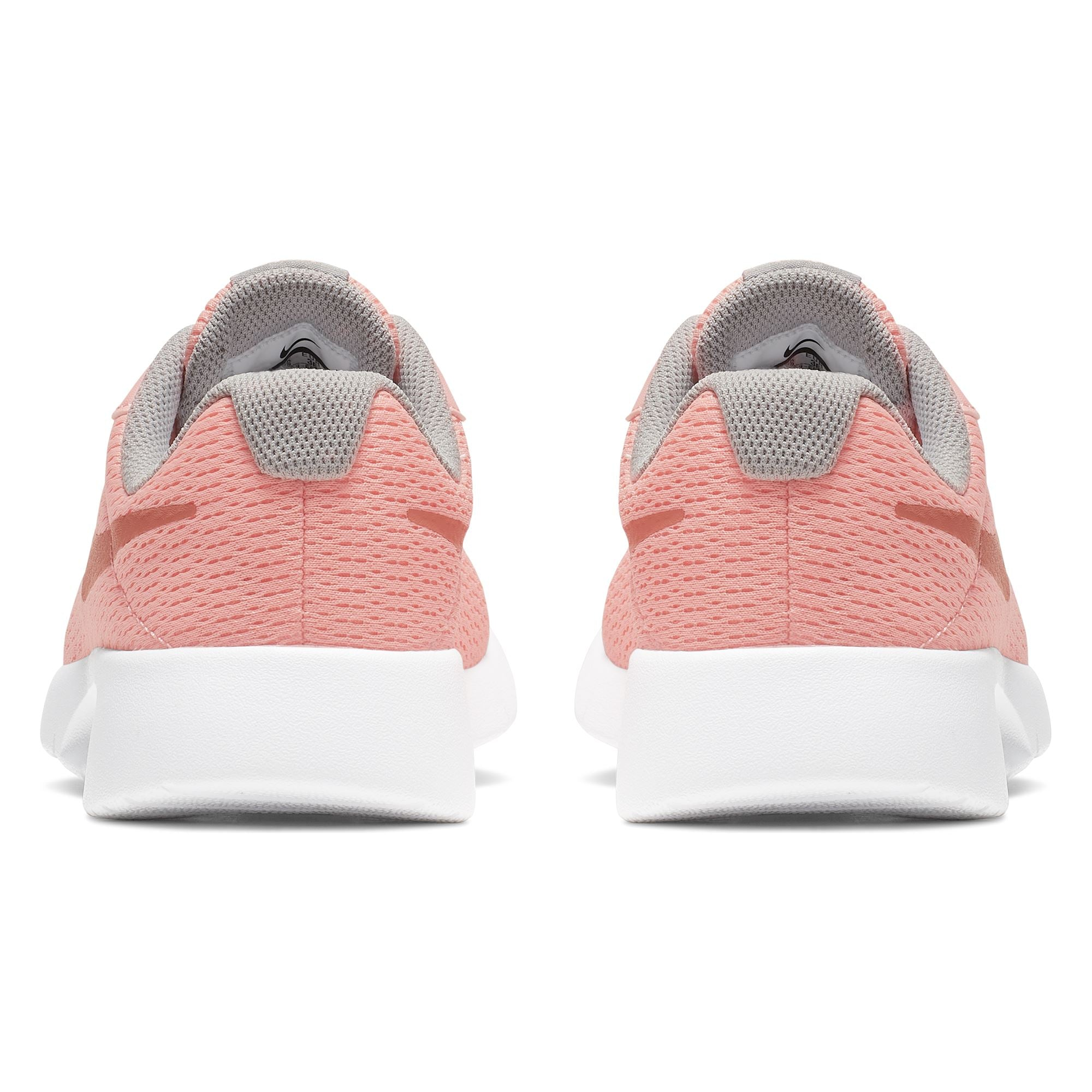 nowy przyjeżdża dobra tekstura 50% zniżki Nike Girls Tanjun (GS) Girls' Shoe - Pink Tint/Mtlc Rose Gold-Atmosphere  Grey