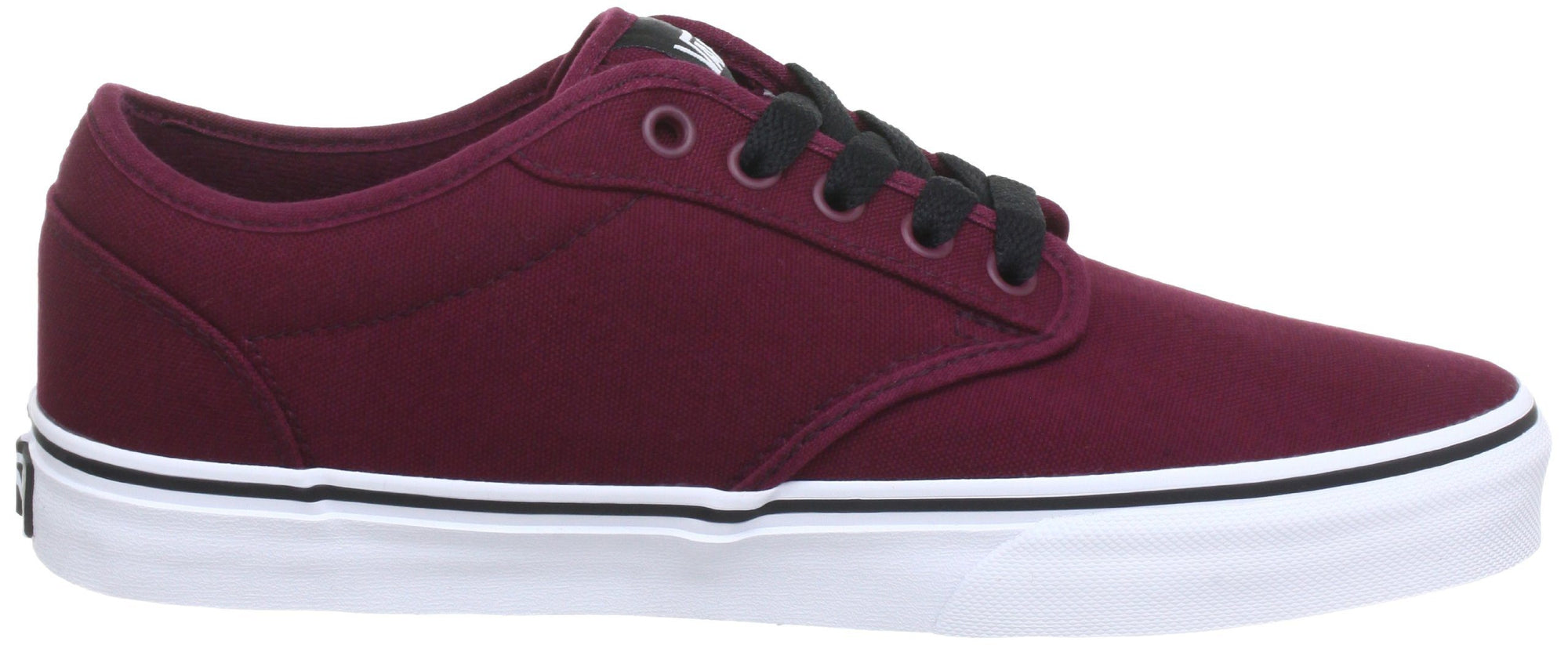 Vans Men's Atwood Canvas Shoes - Ox Blood/White SP-Footwear-Mens Vans